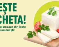 Susține economia românească! Cumpără telemeaua din lapte de la ferme românești! (P)