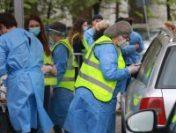 Aproape 1.000 de persoane, vaccinate cu prima doză la centrul drive thru din București