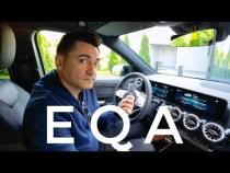 """Mercedes EQA – Prim contact """"la rece"""""""