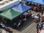 Centrul de vaccinare de la Piața Obor se redeschide vineri. Se folosește vaccin Johnson&Johnson