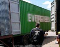 Un transport de 25 de tone de deșeuri din Germania, descoperit în portul Constanța Sud