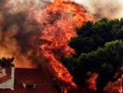 Avertizare de călătorie în Grecia – risc de incendii de vegetație