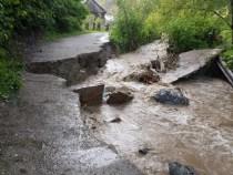 Vrancea: 16 localități sunt afectate de inundațiile din ultimele zile