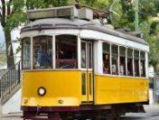 Au reapărut tramvaiele galbene pe în Lisabona