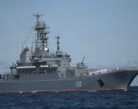 Navele rusești au efectuat teste cu muniție de război în Marea Neagră