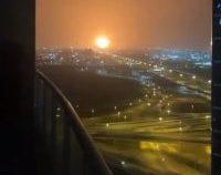 Incendiu după o explozie puternică în principalul port al Dubaiului   VIDEO