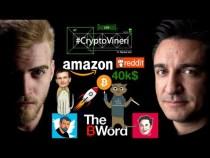 #CryptoVineri 30 – BITCOIN la pragul 40k, VITALIK devine pisică, care e treaba cu AMAZON și B WORD