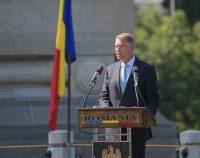 Președintele Iohannis: Este datoria noastră să cinstim cu onoare Imnul Naţional