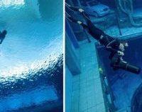 Cea mai adâncă piscină din lume s-a deschis în Dubai | VIDEO