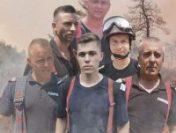 Cei 108 pompieri români care au stins incendiile din Grecia s-au întors acasă | AUDIO