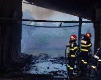 Tulcea: incendiu în comuna Jurilovca