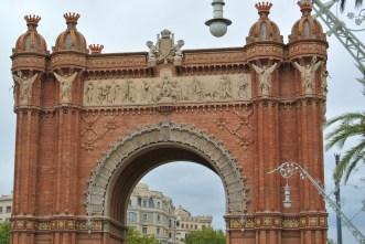 Arcul de Triumf din Barcelona 05