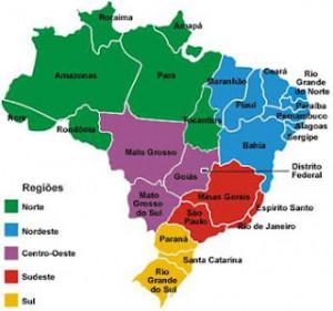 Resultado de imagem para mapa geopolitico do brasil