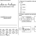 SIMULADO DE AVALIAÇÃO – 3º ANO