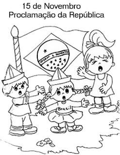 15 novembro atividades desenhos colorir republica39