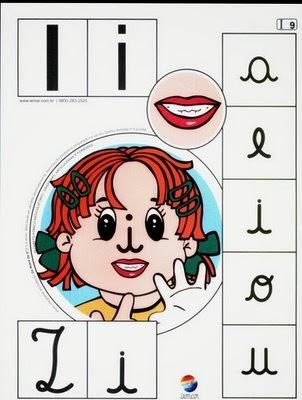 Alfabeto colorido i