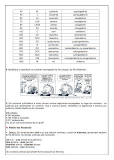 Atividades Português 6° ano Lingua Portuguesa exercícios avaliações provas testes imprimir (2)
