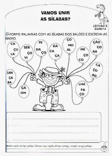 Atividades de alfabetizacao e letramento 3