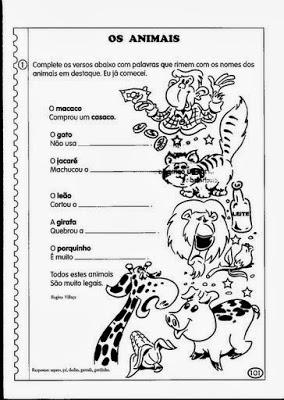 criando portugues texto