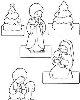 personagens de presépio para montar recortar natal atividade (9)