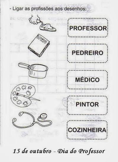 Atividades dia do professor imprimir
