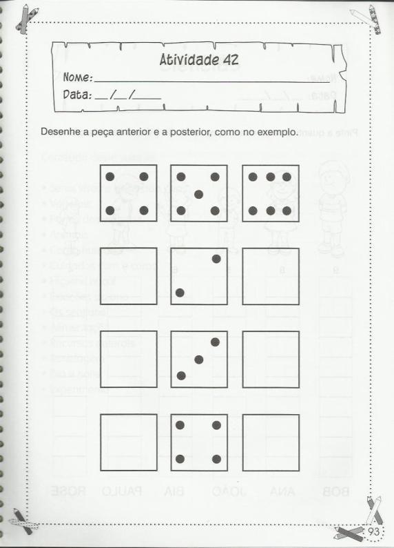 Exercícios de matemática 1º ano adição e divisões