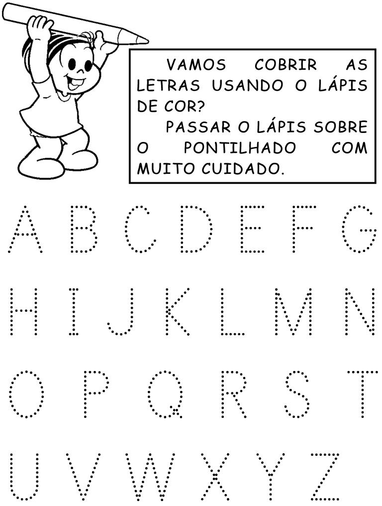 Amado Atividades com o Alfabeto Pontilhado - Atividades Pedagógicas PU29