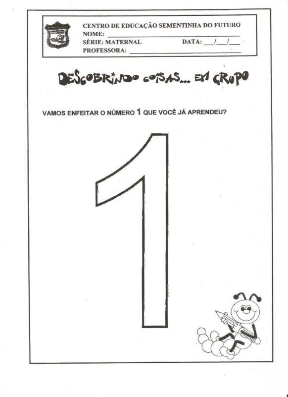 atividade numeral 1