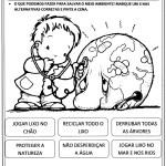 ATIVIDADES SOBRE O MEIO AMBIENTE