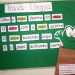 IDEIAS DE ATIVIDADES SOBRE TRAVA-LÍNGUAS