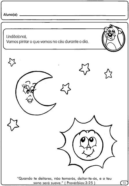 Atividades Sobre Dia e Noite na Educação Infantil