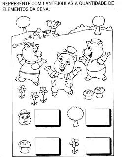 atividades sobre os 3 porquinhos