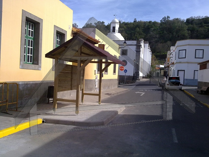 station de taxi - Atiwood