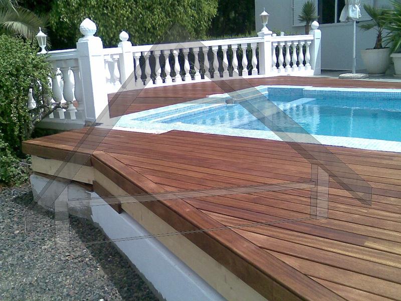 Floating wooden platform - AtiWood