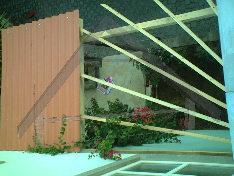 Pergola con tetto - AtiWood