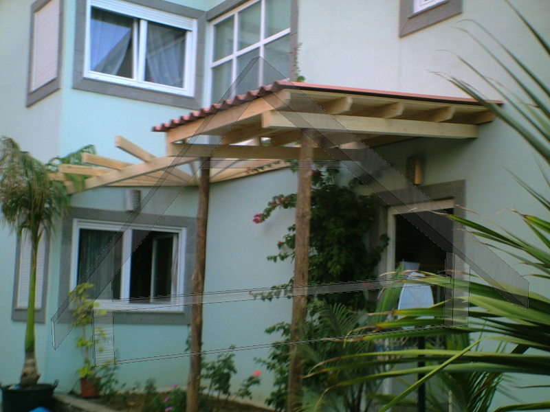 Pergola mit Dach - AtiWood