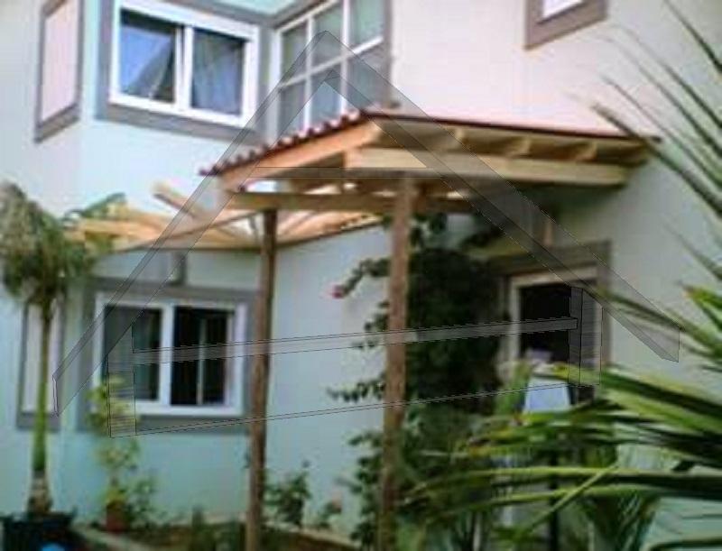 Pergola con techo - AtiWood