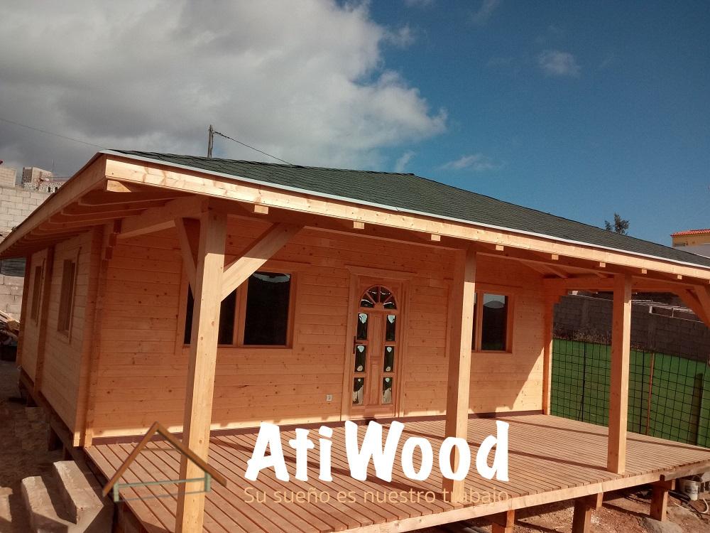 Casas de madera las palmas casas de madera moderna with - Casas de madera en gran canaria ...