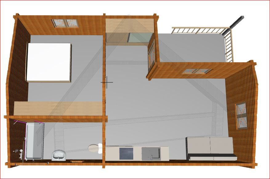 Casa de madera tenerife 56 40 m2 1 habitacion terazza - Casas de madera tenerife precios ...