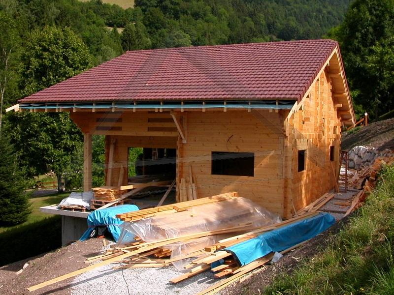 casa de madera vivienda - AtiWood