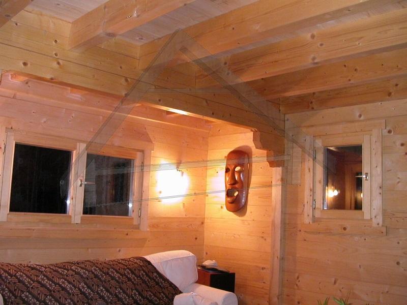 interior casa de madeira - AtiWood