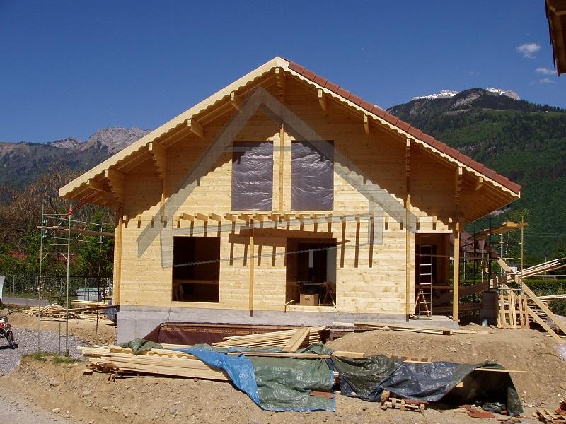 garage souterrain maison en bois - AtiWood