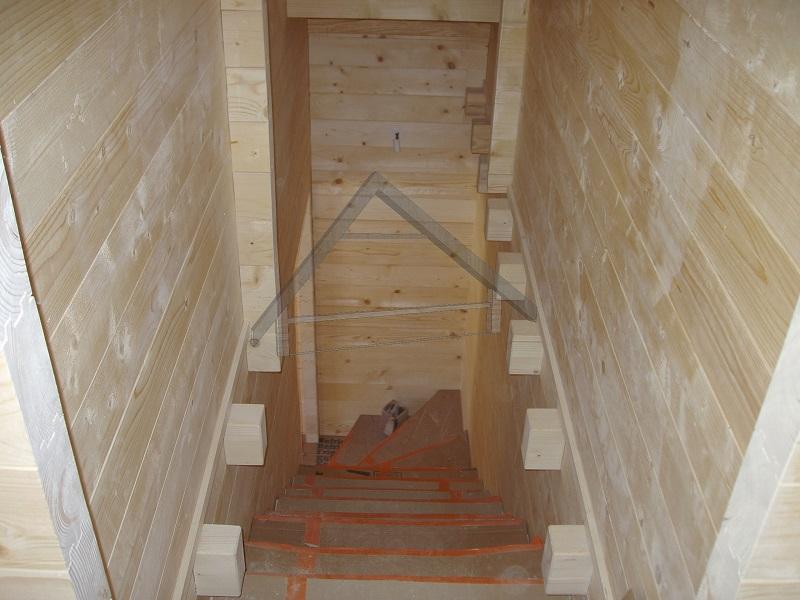 escalera interior - AtiWood