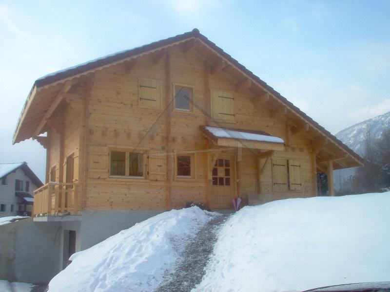 Casas de madera invierno - AitWood