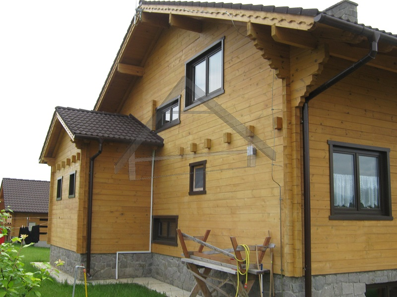 Ecological wooden house - AtiWood