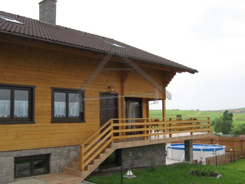maison en bois écologique - AtiWood