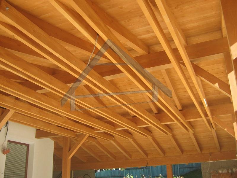 Wooden ceiling beams - AtiWood
