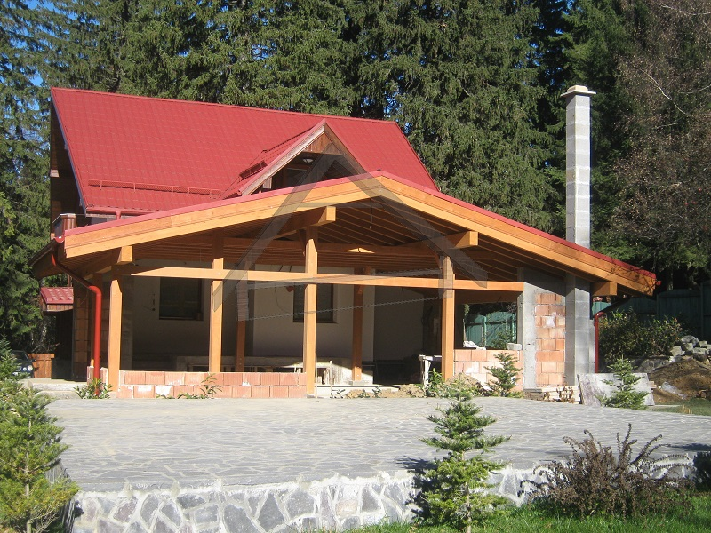 casa de montaña madera - AtiWood