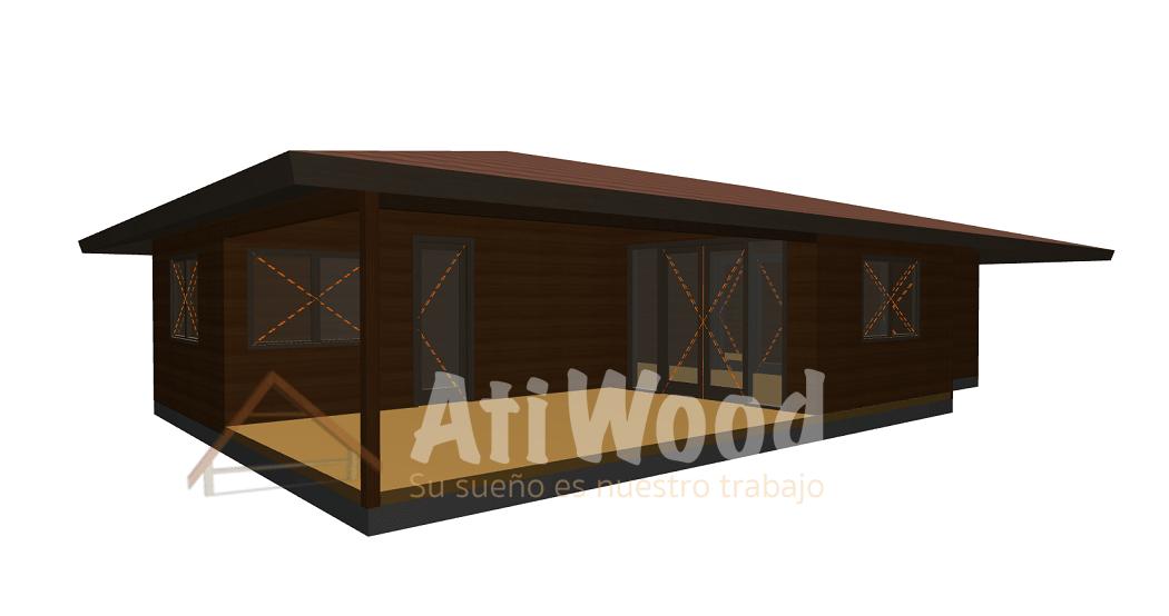 aperçu maison duplex - AtiWood