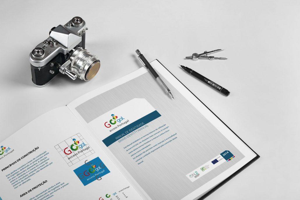 Portfolio GoGal Web design e design gráfico em Braga.